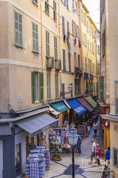 Wall Art - Photograph - Street In Old Nice by Elena Elisseeva