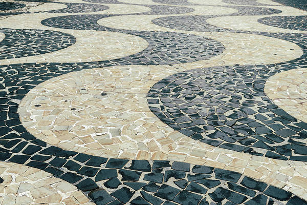 Photograph -  Pedras Portuguesas Winding Pattern  by Alexandre Rotenberg