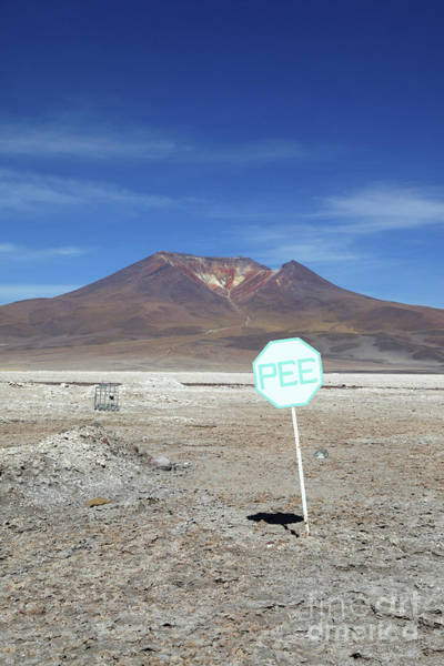 Photograph - Pee Marks The Spot Chile by James Brunker