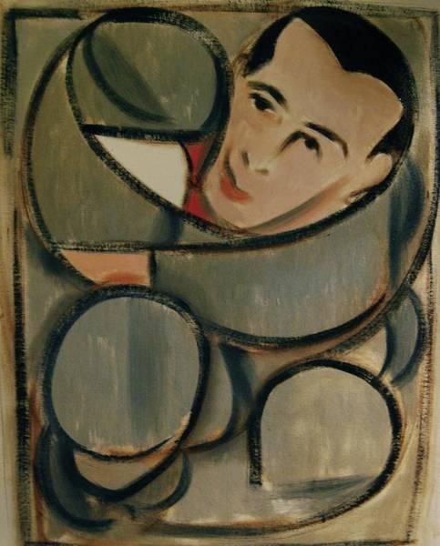 Pee Wee Herman Circular Art Print Art Print