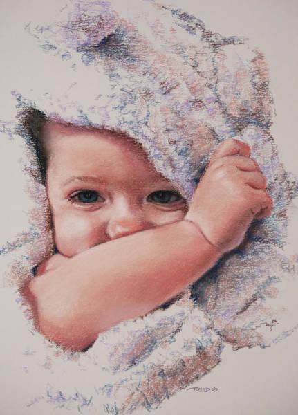 Pastel - Peek A Boo by Christopher Reid