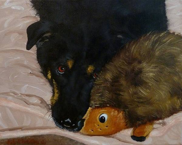 Painting - Peek-a-boo To You by Judy Bradley