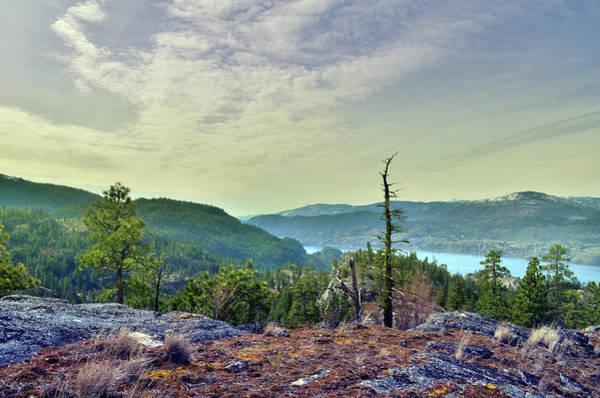 Photograph - Peek-a-boo View Of Skaha Lake by Tara Turner