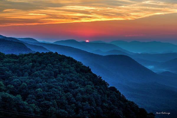 Photograph - Peeking Over Blue Ridges Pretty Place Chapel Overlook Art by Reid Callaway