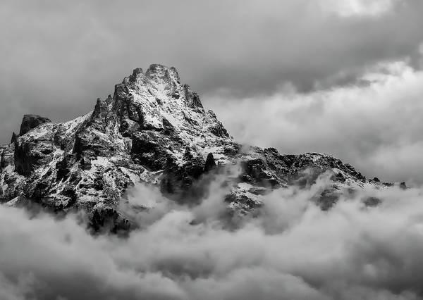 Photograph - Peeking Peak by Loree Johnson