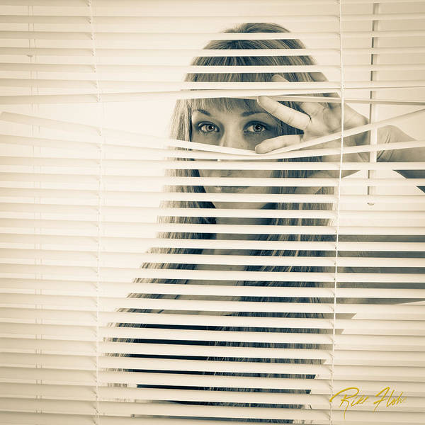 Photograph - Peeping Alex by Rikk Flohr