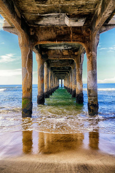 Photograph - Peer Under The Pier by Michael Hope
