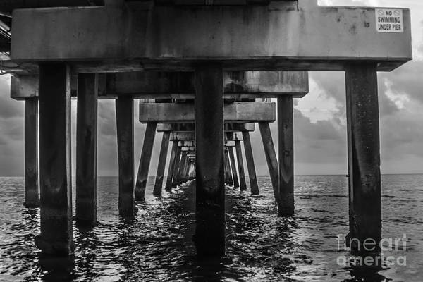 Photograph - Peering Beneath The Pier 2 by Gary Keesler