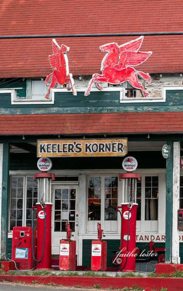 Photograph - Pegasus At Keeler's Korner I by E Faithe Lester
