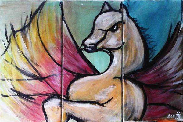 Painting - Pegasus by Loretta Nash