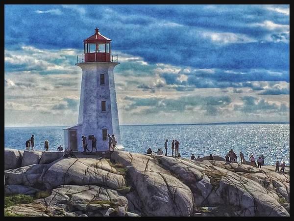 Photograph - Peggy Lighthouse by David Matthews
