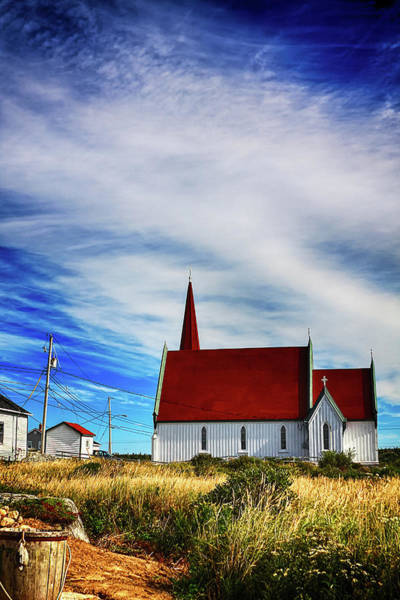Photograph - Peggy's Cove Church by Tatiana Travelways
