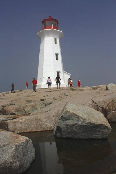 Photograph - Peggys Cove Lighthouse by David Matthews