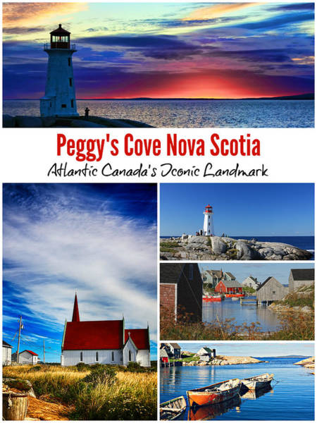 Photograph - Peggy's Cove, Nova Scotia Poster by Tatiana Travelways