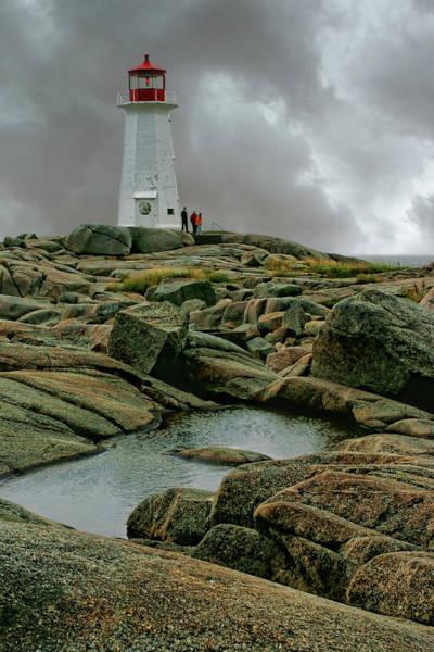 Wall Art - Photograph - Peggys Point Lighthouse by Nikolyn McDonald
