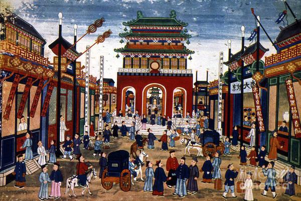 Photograph - Peking: Commercial Center by Granger