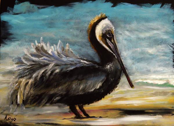 Wall Art - Painting - Pele By The Sea by Ann Loyd