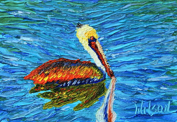 Painting - Pelican Beauty by Chrys Wilson