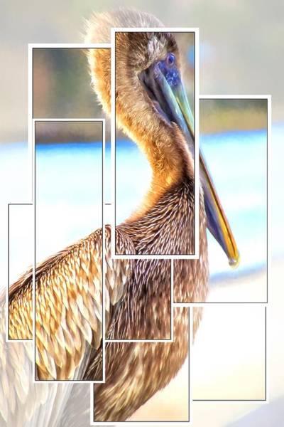 Photograph - Pelican Blocks by Alice Gipson
