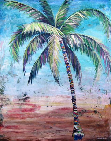 Wall Art - Painting - Pelican Palm II by Kristen Abrahamson