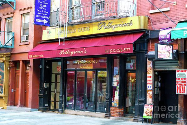 Photograph - Pellegrino's New York City by John Rizzuto