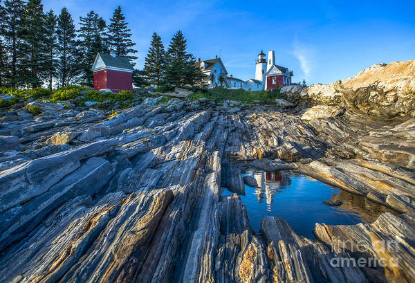 Wall Art - Photograph - Pemaquid Point Lighthouse Maine by Diane Diederich