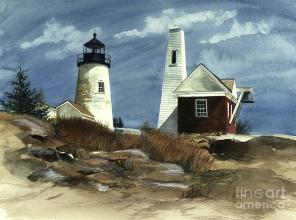 Pemaquid Point Lighthouse  Art Print