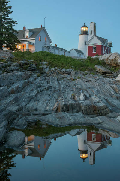 Photograph - Pemaquid Point Reflections by Jesse MacDonald