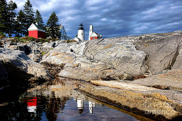 Photograph - Pemaquid Reflection by Olivier Le Queinec