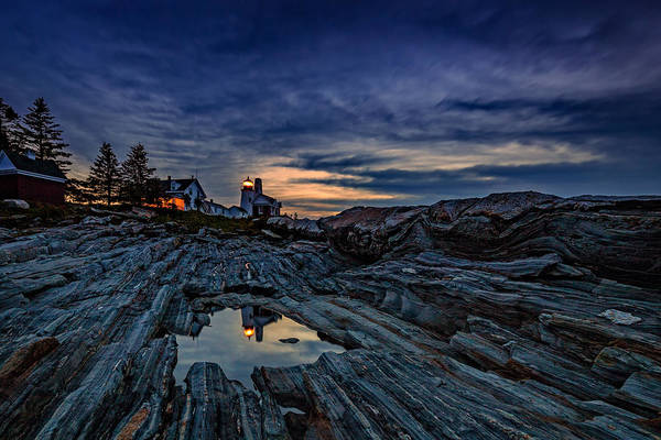 East Point Photograph - Pemaquid Reflections by Rick Berk