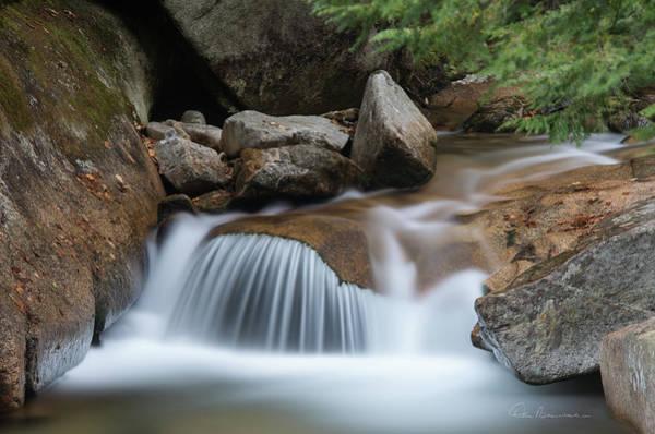 Photograph - Pemigewasset Cascade 8291 by Dan Beauvais