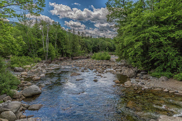 Photograph - Pemigewasset River East Branch by Brian MacLean