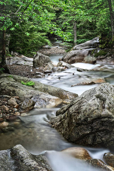 Photograph - Pemigewasset River Nh by Michael Hubley