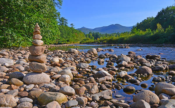 Photograph - Pemigewasset River, North Woodstock Nh by Ken Stampfer