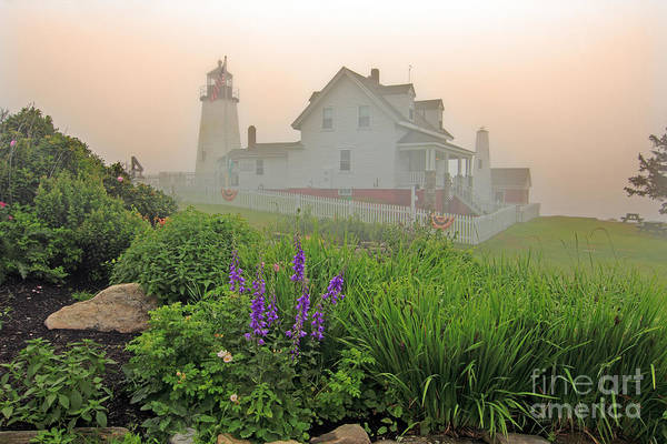 Wall Art - Photograph - Pemiquid Lighthouse by Jim Beckwith