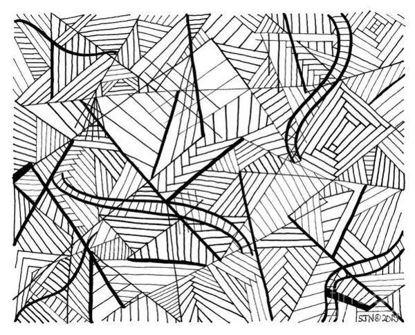 Photograph - Pen And Ink 1 by Steven Natanson