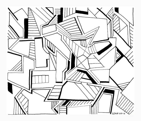 Photograph - Pen And Ink 5 by Steven Natanson