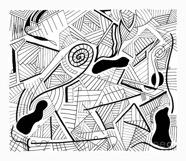 Photograph - Pen And Ink 6 by Steven Natanson