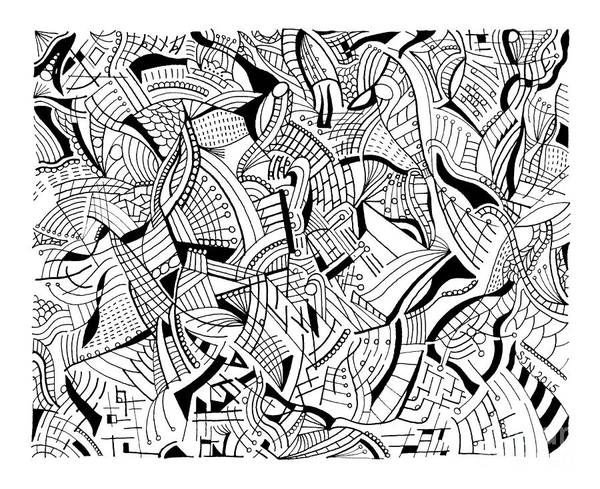 Photograph - Pen And Ink 7 by Steven Natanson