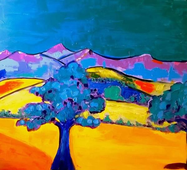 Painting - Pen Y Fan Mountain by Rusty Gladdish