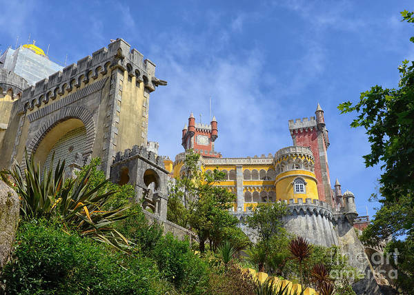 Neo-romanticism Photograph - Pena National Palace, Portugal by Ivan Batinic