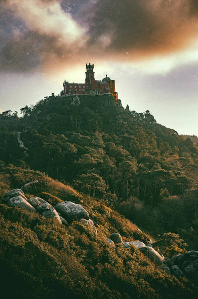 Wall Art - Photograph - Pena Palace, Sintra by Carlos Caetano