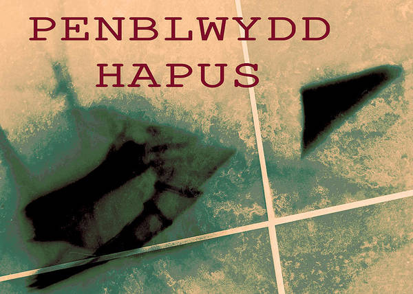 Photograph - Penblwydd Hapus - Happy Birthday Abstraction 2018 by James Warren