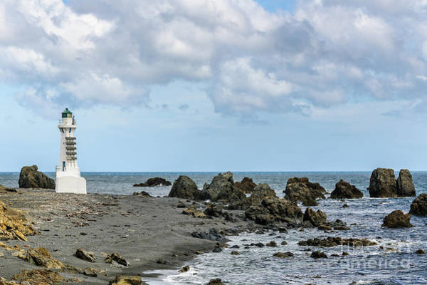 Photograph - Pencarrow Head Lower Lighthouse by Werner Padarin