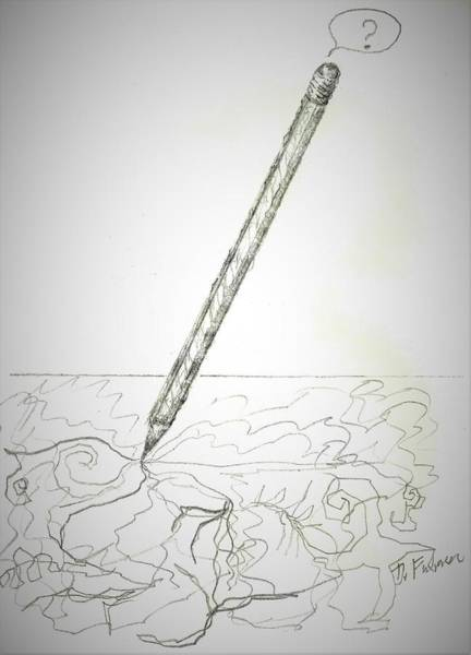Drawing - Pencil Drawing by Denise F Fulmer