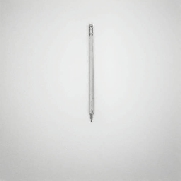 Block Photograph - Pencil On A Blank Page by Scott Norris