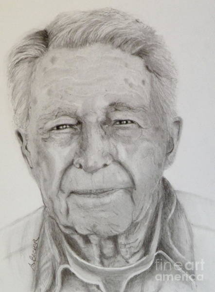Painting - Pencil Study by Susan A Becker
