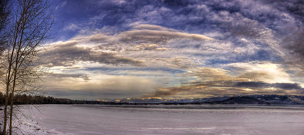 Photograph - Pend D'oreille Lake Panorama 2 by Lee Santa