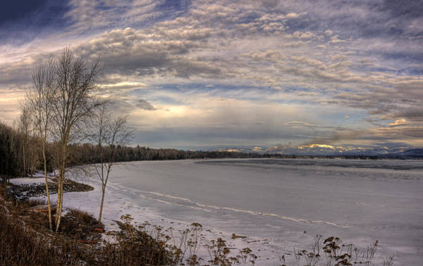Photograph - Pend D'oreille Lake Panorama by Lee Santa