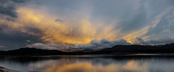 Photograph - Pend Oreille River Sunset 2 by Albert Seger